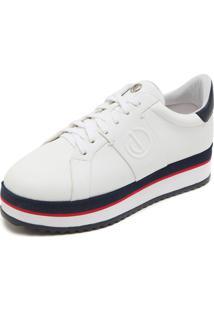 2389fc2ec R$ 149,99. Dafiti Calçado Tênis Branco Feminino Dumond Couro ...