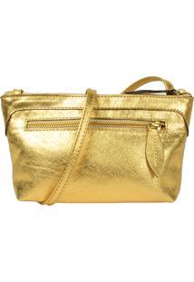 Bolsa Yasrro Belly Ouro
