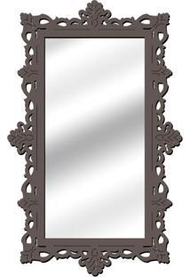 Espelho De Parede 14848I Preto 70X110 Art Shop