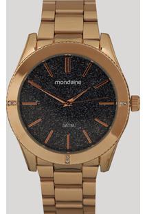 Relógio Analógico Mondaine Feminino - 76696Lpmvre2 Dourado - Único