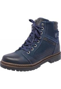 Bota Mega Boots 6021 Azul Marinho