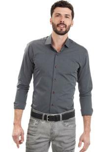 Camisa Di Sotti Listrada Slim Preta - Masculino