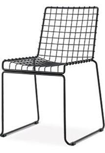 Cadeira Bert Preto Fosco 84 Cm (Alt) - 47510 Sun House