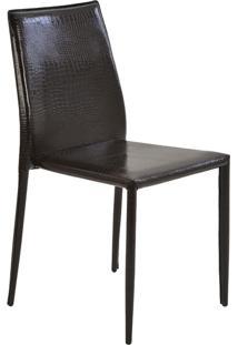 Cadeira Amanda Crocco Marrom Rivatti Móveis