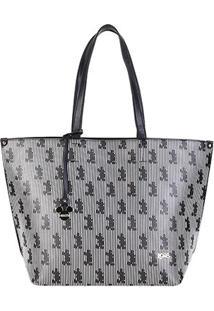 Bolsa Sacola Gash Shopper Mickey Feminina - Feminino-Preto