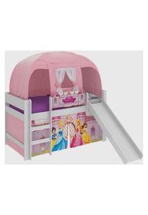 Cama Pura Magia Disney Princesas Branco