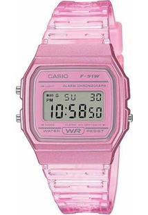 Relógio Casio Standard Feminino - Feminino-Rosa
