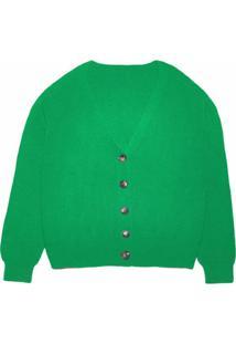 Apparis Cardigan Andi De Tricô - Verde