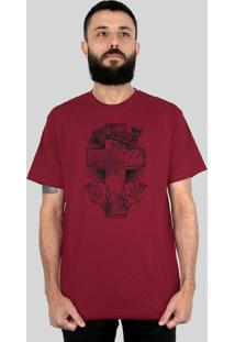 Camiseta Bleed American Faith Vinho