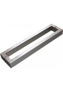 Puxador Para Porta Duplo 42Cm 2 Peças H40 Geris Inox Escovado
