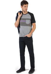 Calça Jeans Reta Vintage Black