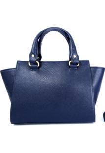 Bolsa Castor Couros Handbag Prada Azul