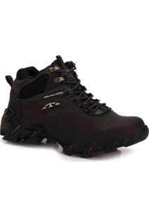 Bota Adventure Masculina Bull Terrier Havoc - Marrom