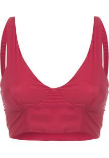 Top Silk - Vermelho