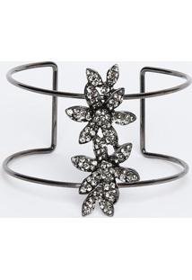 Bracelete Com Strass- Chumbo- 7Xø15Cmgregory