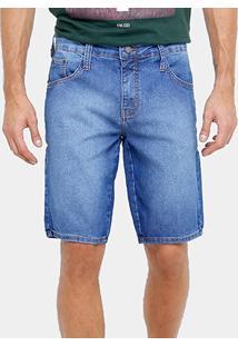 Bermuda Jeans Colcci Índigo Masculina - Masculino
