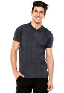 Camisa Polo Oakley Heritage 2.0 Azul-Marinho