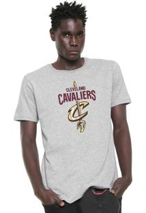 Camiseta Nba Cleveland Cavaliers Cinza
