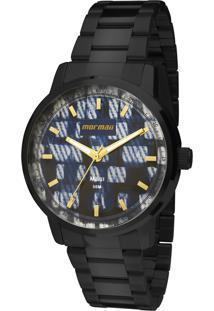 Relógio Mormaii Analógico Maui Mo2036Hv4A Preto - Kanui