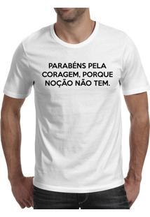 Camiseta Hunter Coragem Branca