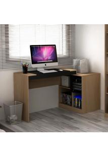 Mesa Para Computador 2 Em 1 Avelã Tx/Onix Tx - Hecol