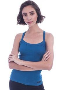 Regata De Ribana Long Island Feminina - Feminino-Azul