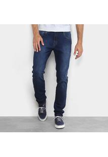 Calça Jeans Dimy Reta Hian Masculina - Masculino