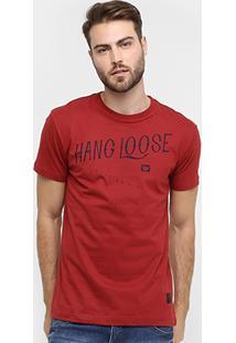 Camiseta Hang Loose Silk Hawaii - Masculino