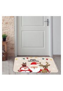Tapete De Natal Para Porta Merry Christmas Único