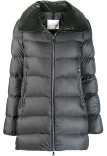 Moncler Torcon Velvet Collar Jacket - Cinza
