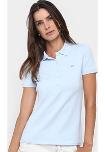 Camisa Polo Lacoste Logo Feminina - Feminino