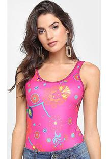Body Sommer Regata Estampado - Feminino
