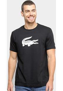 Camiseta Lacoste Estampada Masculina - Masculino