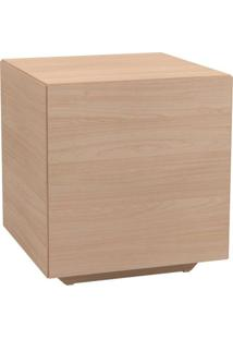 Mesa Lateral Cubo Cor Natural - 48105 - Sun House