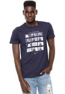 Camiseta Billabong Tails Azul