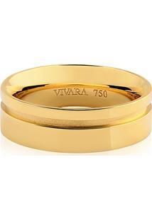 Aliança De Casamento Ouro Amarelo (6Mm)