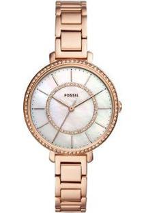 Relógio Fossil Jocelyn Rosé Feminino - Feminino-Rose Gold