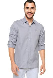Camisa Forum Textura Azul