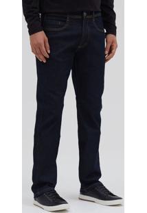 Calça Jeans Reta Escura Básica