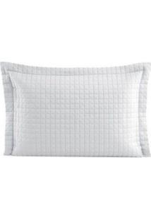 Porta Travesseiro Pastilha Branco - Lavive - Incolor - Dafiti