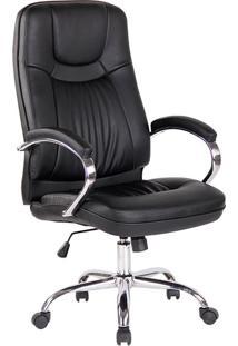 Cadeira Para Escritório Office Lyon-Rivatti - Preto