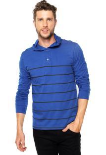 Camiseta Malwee Capuz Azul
