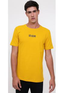 Camiseta Amarela Só Acho