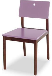 Cadeira Flip Cor Cacau Com Lilas - 30832 Sun House