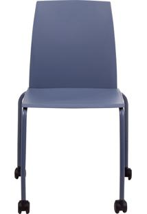 Cadeira De Escritã³Rio Dimas Office - Azul ÍNdigo