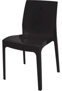 Cadeira Alice Polipropileno Cor Preto - 18746 Sun House