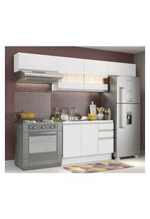 Cozinha Compacta Madesa Marina Branco