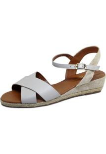 Sandália Anabela S2 Shoes Off White