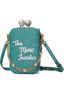 Marc Jacobs Bolsa The Vanity Icing - Azul