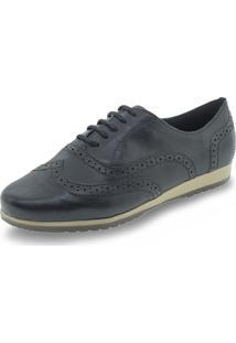 Sapato Feminino Oxford Bottero - 305401 - Preto - Feminino - Dafiti